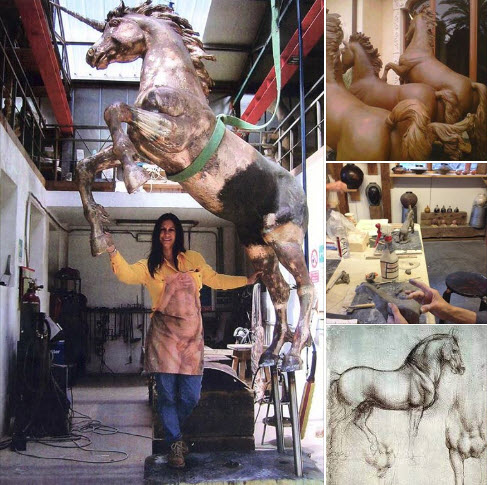 sculpting the horse workshop